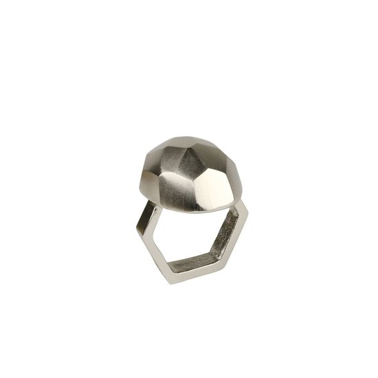 CH AMULET NAPKIN RING | SILVER