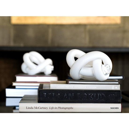 CH GLASS KNOT | WHITE