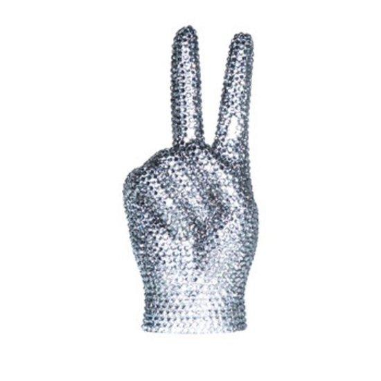 CH PEACE SIGN SCULPTURE | RHINESTONE