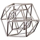 CH SILVER GEO SCULPTURE | SMALL