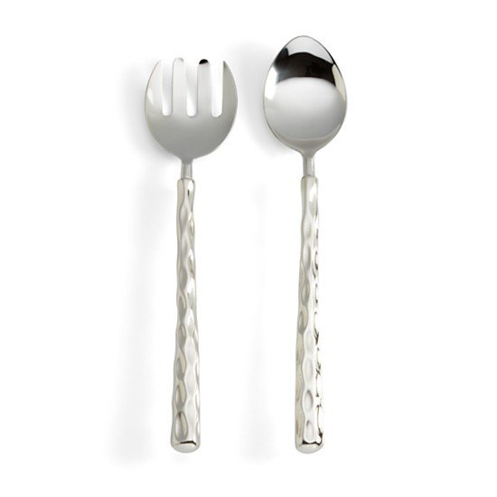 CH TRURO SALAD SERVERS | PLATINUM