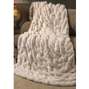 CH FAUX FUR THROW | IVORY