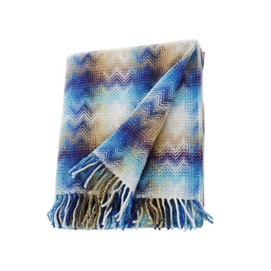 CH MONTGOMERY THROW | BLUE