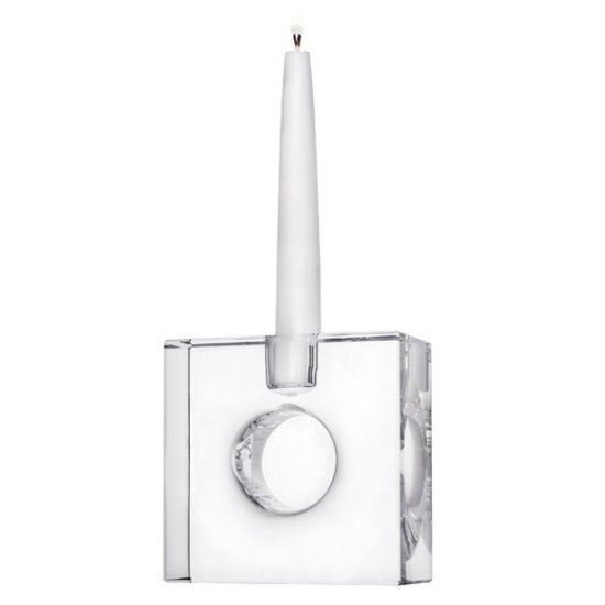 CH TORG CRYSTAL CANDLEHOLDER | SQUARE