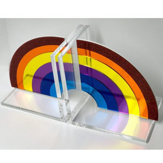 CH BOOKENDS | RAINBOW