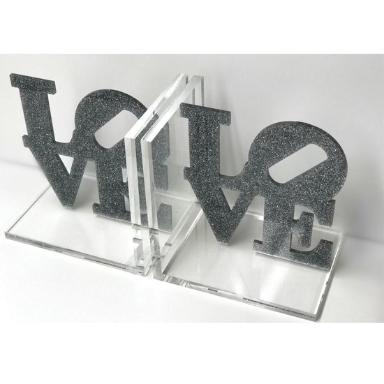 CH BOOKENDS | GLITTER LOVE