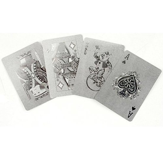CH SILVER PLAYING CARDS