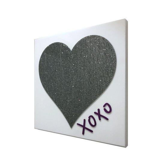 CH HEART & XOXO ART