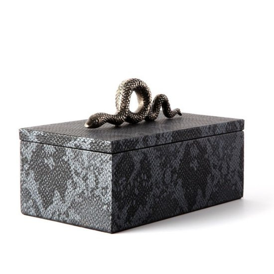 CH PYTHON SNAKE BOX | CHARCOAL | SMALL