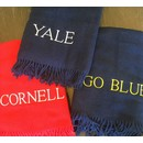 CH PERSONALIZED COLLEGE THROW BLANKETS