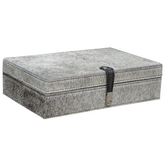 CH GREY HAIRON BOX   LARGE