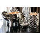 CH ELEPHANT CANDLE | SILVER