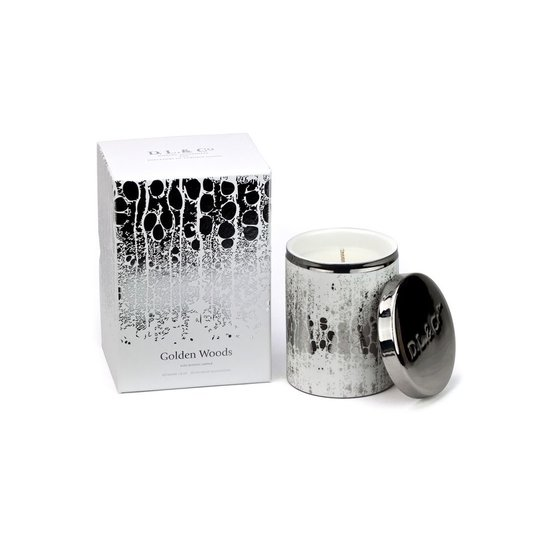 CH SILVER SOLEIL CANDLE | GOLDEN WOODS
