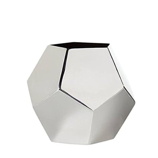 CH POLYGON VASE | STAINLESS STEEL | TALL