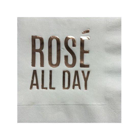 COCKTAIL NAPKIN BOX SET   ROSÉ ALL DAY