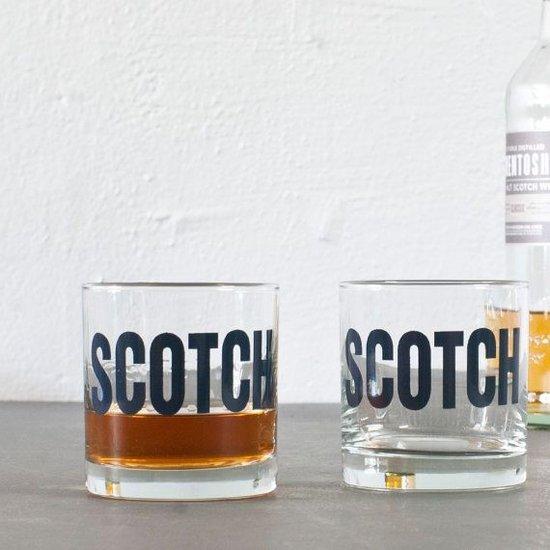 """SCOTCH"" GLASS | BLACK"