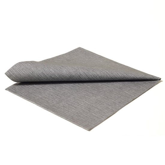 DISPOSABLE NAPKINS | DARK GREY