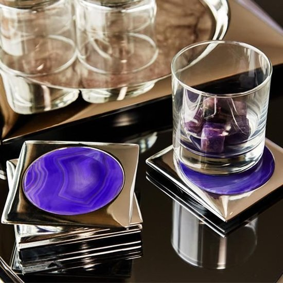 CIRCULO COASTER SET | MULTIPLE COLORS AVAILABLE