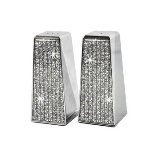 GLITTER SALT & PEPPER SHAKER SET