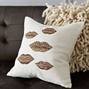 MUSE LIPS THROW PILLOW