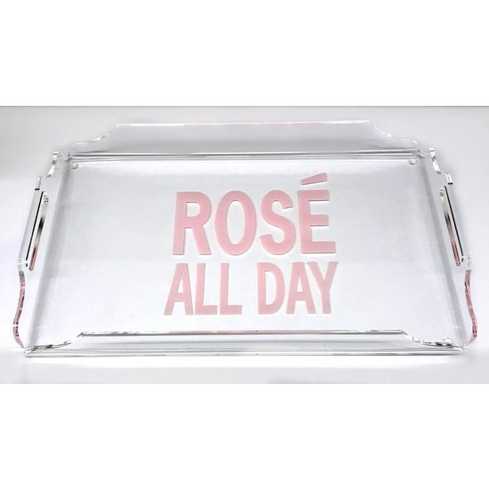ACRYLIC TRAY | ROSÉ ALL DAY