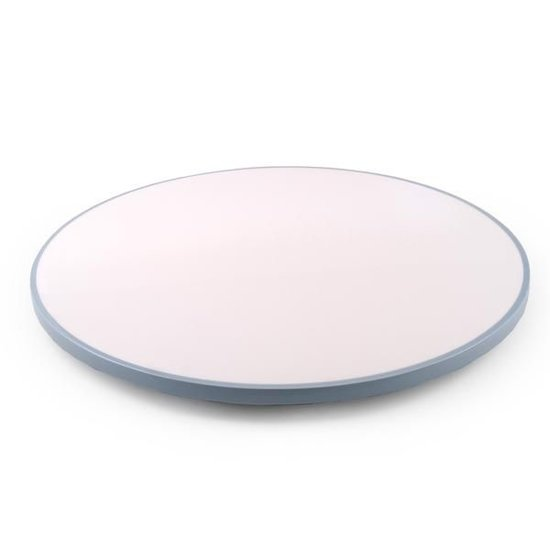 LACQUER LAZY SUSAN | WHITE & COOL GREY