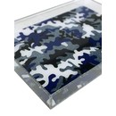 DOWNTOWN TRAY | BLUE CAMO