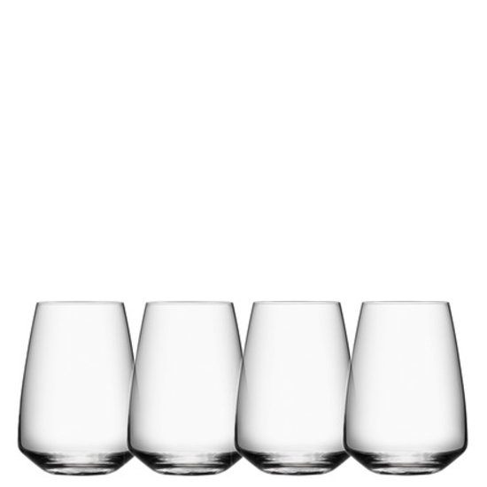 PULSE STEMLESS WINE GLASSES | SET OF 4