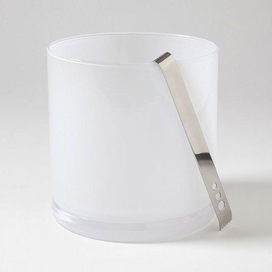 LAB ICE BUCKET   WHITE