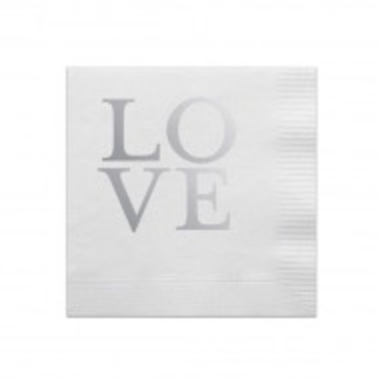 COCKTAIL NAPKIN BOX SET | LOVE