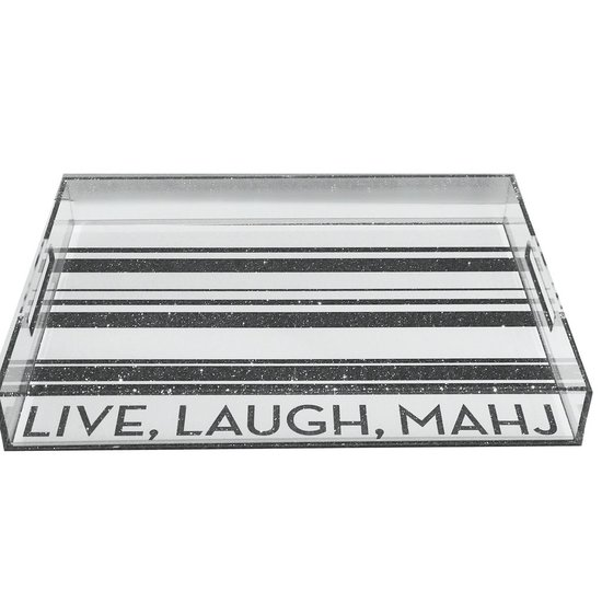 DOWNTOWN TRAY | LIVE LAUGH MAHJ