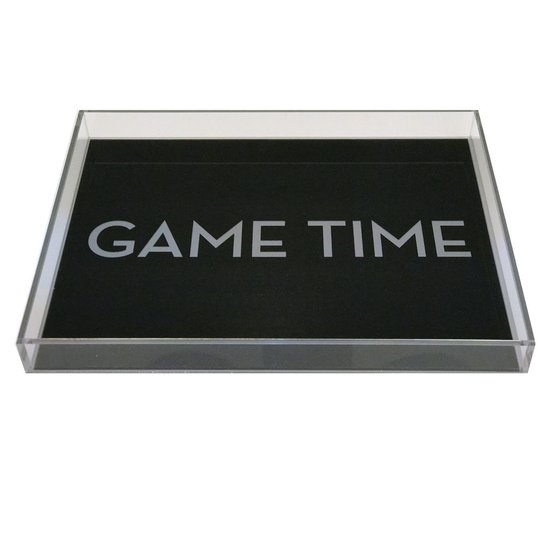DOWNTOWN TRAY | GAME TIME | BLACK