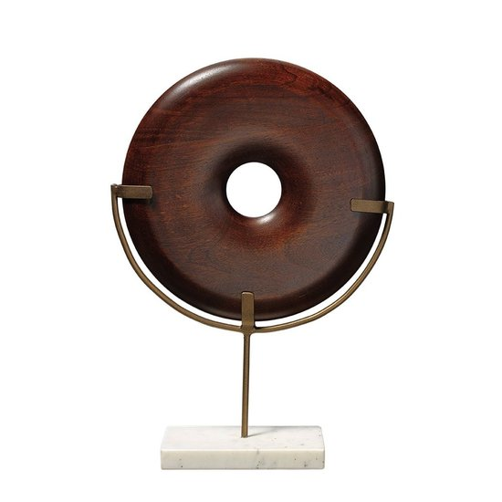ARCHIE ROUND WOOD OBJECT