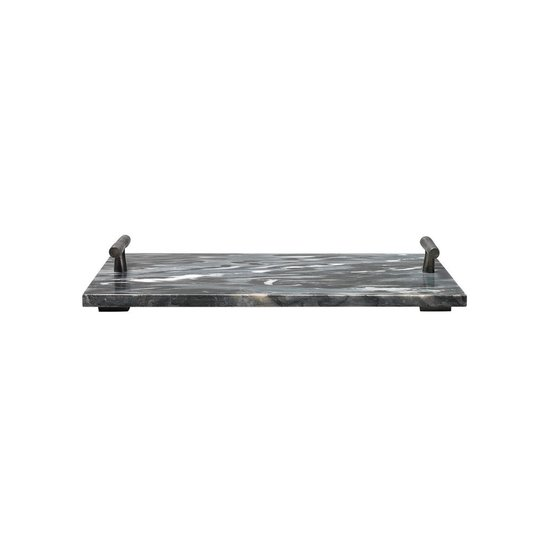 CARTER MARBLE TRAY | GREY