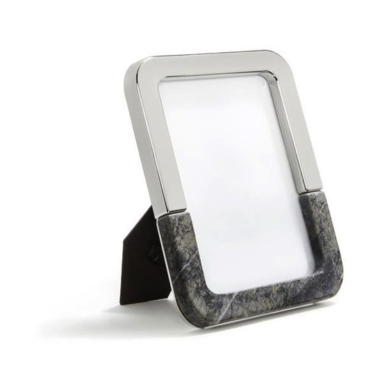 DUAL PICTURE FRAME | SILVER