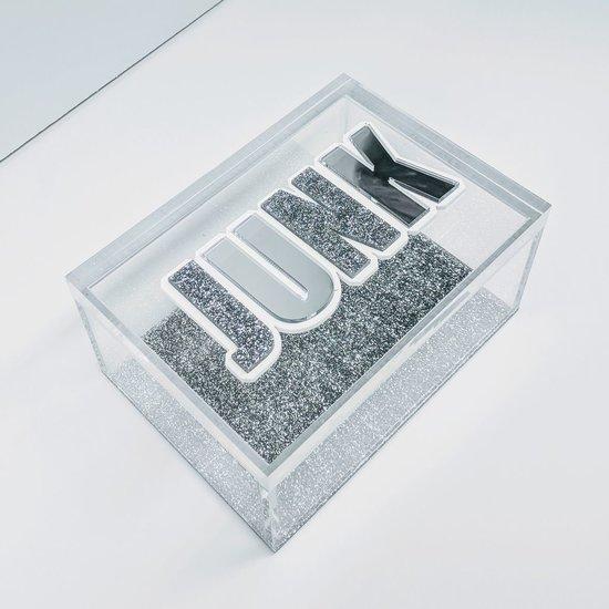 CH LUCITE BOX   JUNK