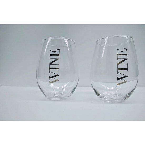 STEMLESS WINE GLASSES | SET OF 2