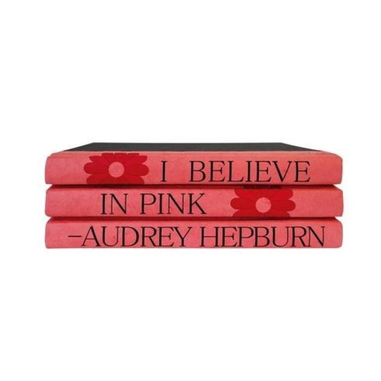 QUOTE BOOKSET | I BELIEVE IN PINK