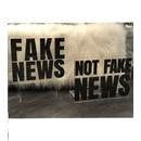 NOT FAKE NEWS MAGAZINE HOLDER