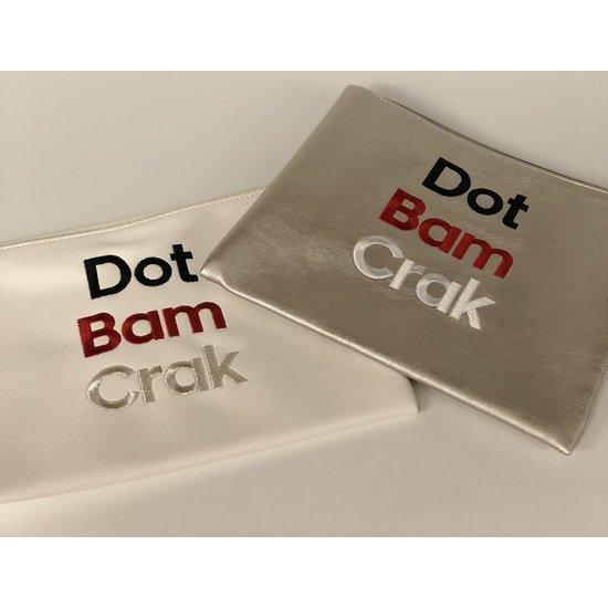 """""""DOT BAM CRAK"""" POUCH"""