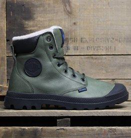 Palladium Palladium Pampa Sport Cuff WPS Wool - Army Green/Black