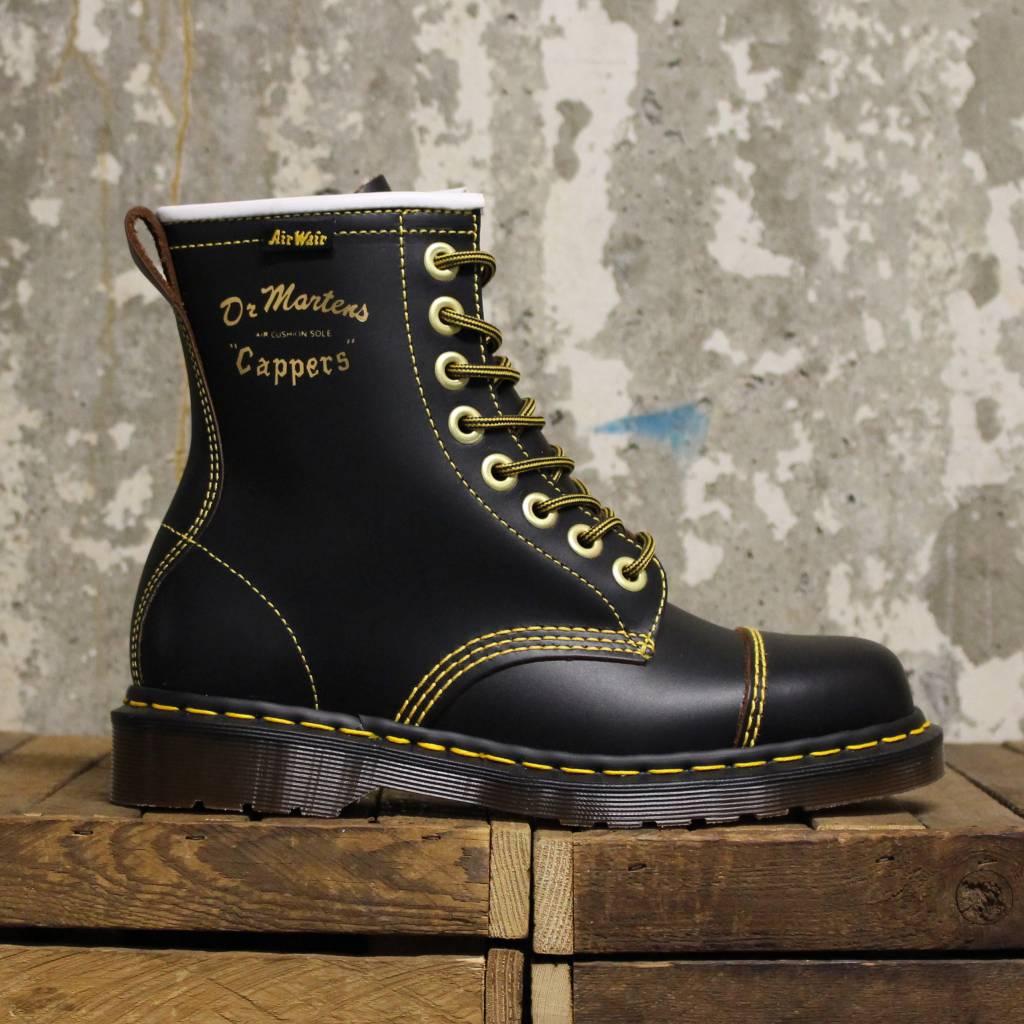 Populaire Dr Martens Capper (Made in England) - Black - Bottes et Baskets CI15