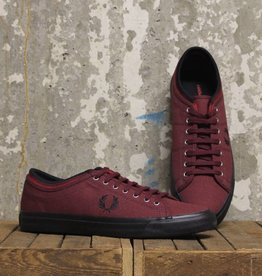 Fred Perry Fred Perry Kendrick Tipped Cuff Canvas - 122 Port/Black/Blood