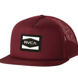 RVCA RVCA Injector Trucker - Wine