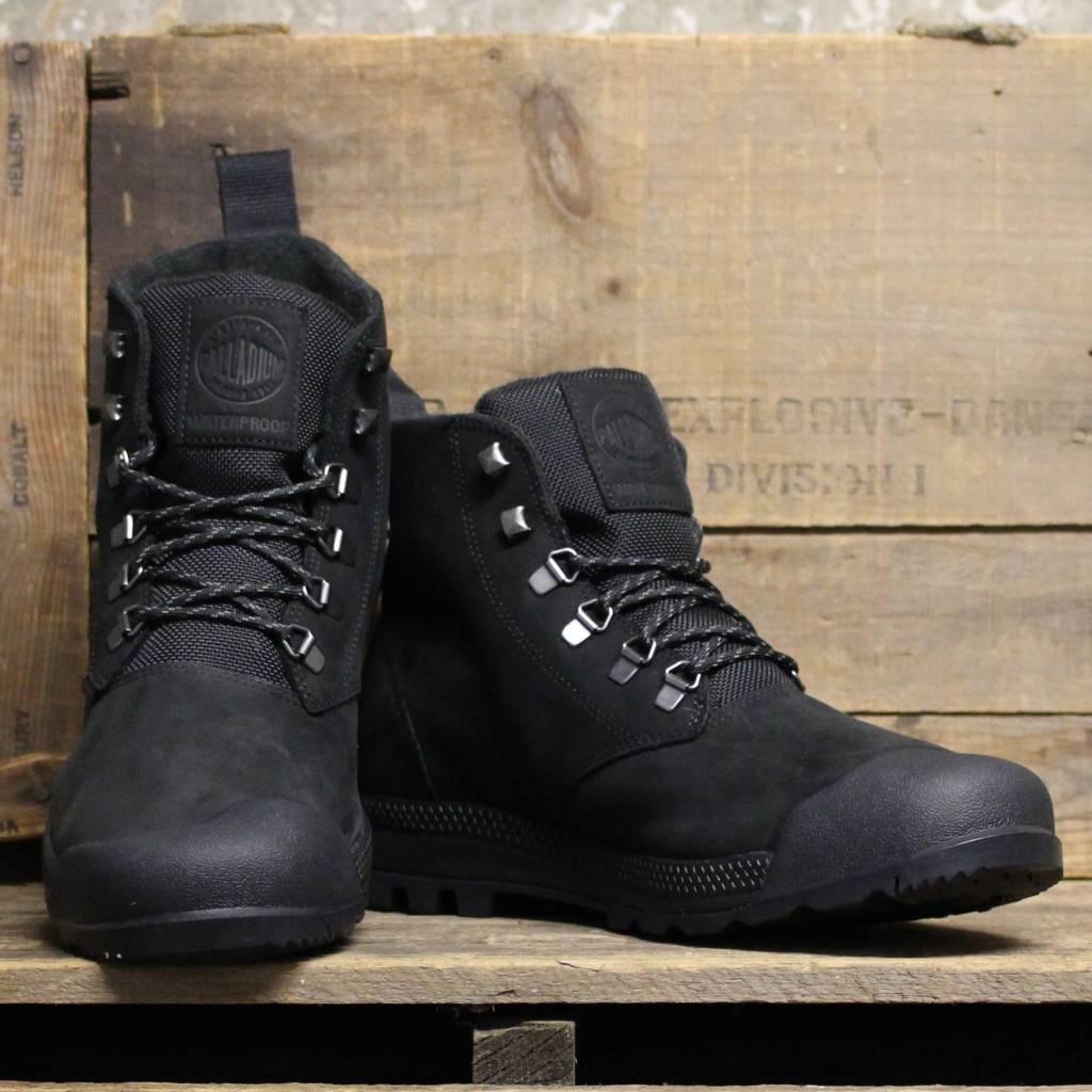 ... Palladium Palladium Pampatech Hi Leather WP - Black/Black