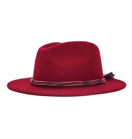 ad1b5bcc2e9 Brixton Tiller Hat - Olive Black. C 75.00. Brixton Brixton Corbet Fedora -  Burgundy