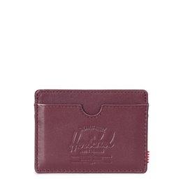 Herschel Herschel Charlie Leather - Windsor Wine/Textured Leather