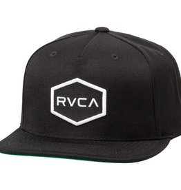 RVCA RVCA Commonwealth Snapback - Black/White
