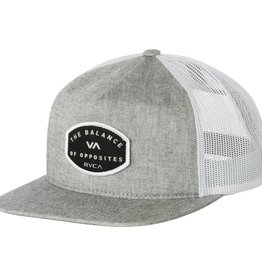 RVCA RVCA Balance Patch Trucker - Light Grey