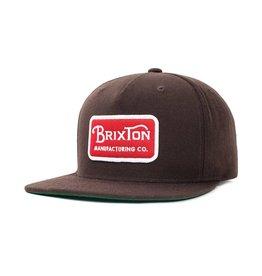 Brixton Brixton Grade Cap - Dark Brown